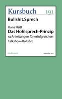 Hans Hütt: Das Hohlsprech-Prinzip
