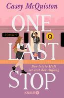 Casey McQuiston: One Last Stop ★★★★