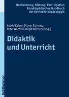 Astrid Kaiser: Didaktik und Unterricht
