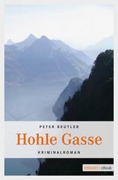 Hohle Gasse - Kriminalroman