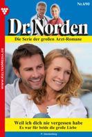 Patricia Vandenberg: Dr. Norden 690 – Arztroman ★★★★