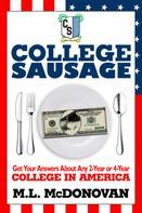 M.L. Donovan: College Sausage