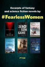 Fearless Women Fall Sampler - Excerpts of Science Fiction and Fantasy Novels by Fearless Women