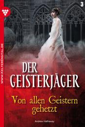 Der Geisterjäger 3 – Gruselroman - Von allen Geistern gehetzt