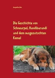 Die Geschichte von Schneurpel, Hundiburundi und dem ausgezutschten Kamel - Die Geschichte einer ungewöhnlichen Freundschaft, die von Vertrauen und Zusammenhalt erzählt.