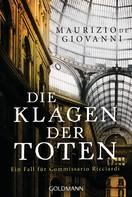 Maurizio de Giovanni: Die Klagen der Toten ★★★★