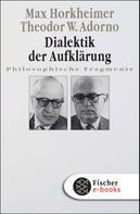 Max Horkheimer: Dialektik der Aufklärung ★★★★★