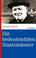 Isabella Ackerl: Die bedeutendsten Staatsmänner ★★★★