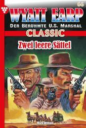 Wyatt Earp Classic 66 – Western - Zwei leere Sättel