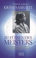 Charles W. Leadbeater: Krishnamurti - Zu Füßen des Meisters