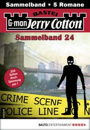 Jerry Cotton Sammelband 24 - Krimi-Serie - 5 Romane in einem Band