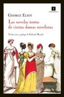 George Eliot: Las novelas tontas de ciertas damas novelistas