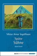 Viktor Arnar Ingólfsson: Späte Sühne ★★★★