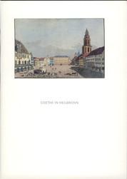 Goethe in Heilbronn
