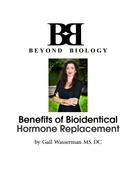 Gail Dr Wasserman: Benefits of Bioidentical Hormone Replacement ★★