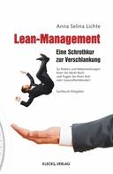 Anna Selina Lichte: Lean-Management
