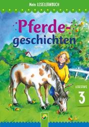 Pferdegeschichten - Mein Leselernbuch: Lesestufe 3