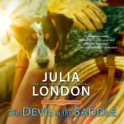 The Devil in the Saddle - A Princess of Texas Romance, Book 2 (Unabridged)