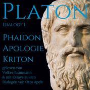 Platon Dialoge 1 - Phaidon, Apologie, Kriton