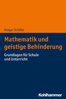 Holger Schäfer: Mathematik und geistige Behinderung