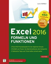 Excel 2016 Formeln und Funktionen - Das Praxisbuch zu Makro und VBA-Programmierung