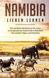 Namibia lieben lernen: Der perfekte Reiseführer für einen unvergesslichen Aufenthalt in Namibia inkl. Insider-Tipps und Packliste