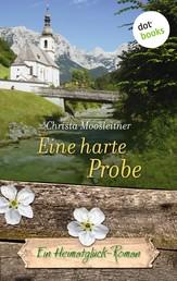 Eine harte Probe - Ein Heimatglück-Roman - Band 17