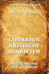 Literaturkritische Schriften