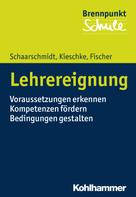 Uwe Schaarschmidt: Lehrereignung