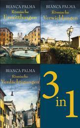 Römische Ermittlungen / Römische Verwicklungen / Römische Verdächtigungen - Die ersten drei Fälle für Commissario Caselli