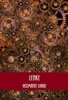 Hermann Bahr: Lenke