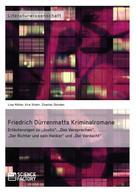 Kira Stiehr: Friedrich Dürrenmatts Kriminalromane ★★★