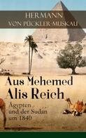 Hermann von Pückler-Muskau: Aus Mehemed Alis Reich: Ägypten und der Sudan um 1840