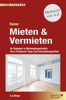 Dr. Herbert Rainer: Mieten & Vermieten