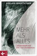 Niklaus Brantschen: Mehr als alles ★★★★