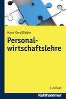 Hans-Gerd Ridder: Personalwirtschaftslehre