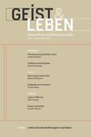 Christoph Benke: Geist & Leben 1/2019