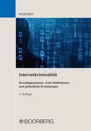 Internetkriminalität - Grundlagenwissen, erste Maßnahmen und polizeiliche Ermittlungen