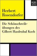 Herbert Rosendorfer: Die Schönschreibübungen des Gilbert Hasdrubal Koch ★★