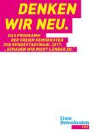 Dr. Marco Buschmann: Denken wir neu.
