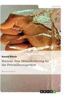Harald Nitsch: Burnout: Eine Herausforderung für das Personalmanagement