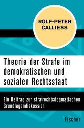 Theorie der Strafe im demokratischen und sozialen Rechtsstaat - Ein Beitrag zur strafrechtsdogmatischen Grundlagendiskussion