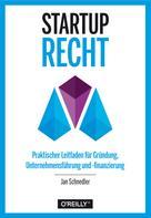 Jan Schnedler: Startup-Recht