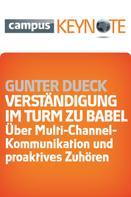 Gunter Dueck: Verständigung im Turm zu Babel ★★★★