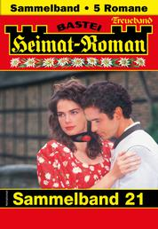 Heimat-Roman Treueband 21 - Sammelband - 5 Romane in einem Band
