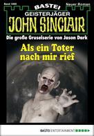 Timothy Stahl: John Sinclair - Folge 1895