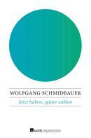 Wolfgang Schmidbauer: Jetzt haben, später zahlen