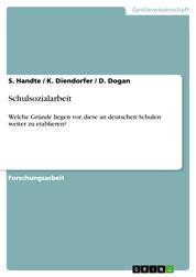 Schulsozialarbeit - Welche Gründe liegen vor, diese an deutschen Schulen weiter zu etablieren?