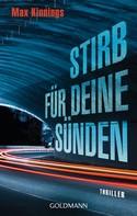 Max Kinnings: Stirb für deine Sünden ★★★★