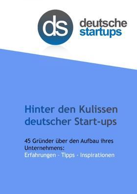 Hinter den Kulissen deutscher Start-ups